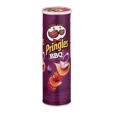Pringles Potato Chips, BBQ, 5.96 oz., 12/Pack