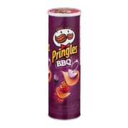 Pringles Potato Chips, BBQ, 5.96 oz., 12/Pack