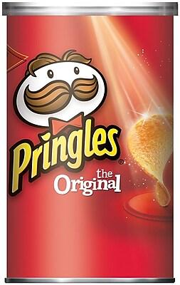 Pringles Potato Chips, Original, 2.38 oz., 24/Pack