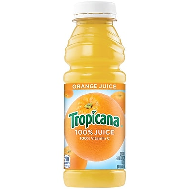 Tropicana Orange Juice 15.2 oz., 24/Pack