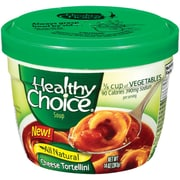 Healthy choice Microwable Bowl Cheese Tortellini Soup, 14 oz., 8/Pack