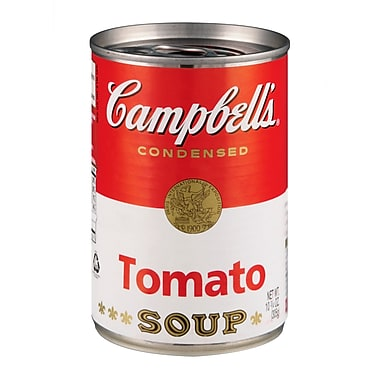 Campbells Condensed Tomato Soup, 10.75 oz. Can, 16/Pack