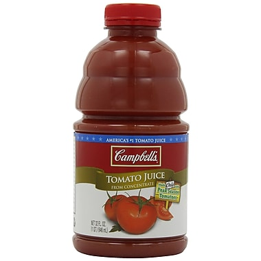 Campbells Tomato Juice, 32 oz., 12/Pack
