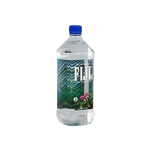 Fiji Natural Artesian Water 16 9 Fl Oz Pack Of 24 Bottles: Fiji Natural Artesian Water, 1 Liter Bottle, 6/Pack