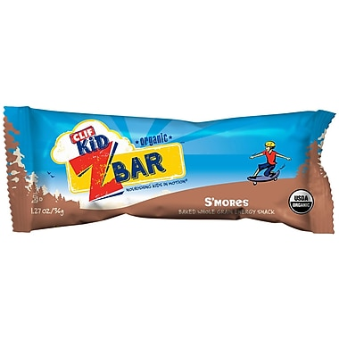 Clif Kid Organic S mores, 1.27 oz. Bars, 36/Pack