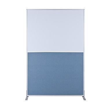 Best-Rite Standard Modular Panel - Markerboard / Blue Fabric, 6' x 3'