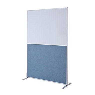 Best-Rite Standard Modular Panel - Markerboard / Blue Fabric, 6' x 4'