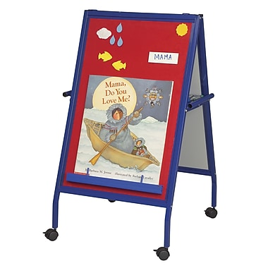 Best-Rite Red Magnetic Flannel Easel