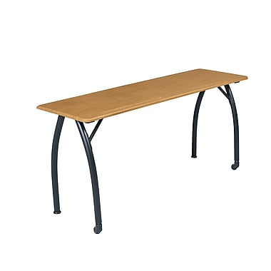 Balt Mentor 60'' Rectangular Training Table, Oak (90122BLT)