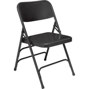 National Public Seating 310 Steel Folding Chair, Black (3104)