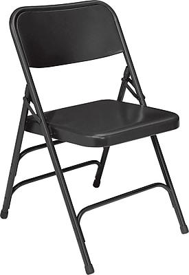 NPS 310 Steel Folding Chair, Black