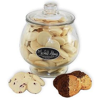 Panier-cadeau : Jarre remplie de biscuits sablés