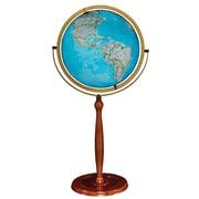 "Replogle 16"" National Geographic Chamberlin Illuminated Globe, Blue Ocean"