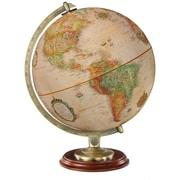 "Replogle 12"" Kingston World Globe, Antique Ocean"