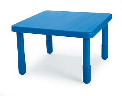 Angeles Preschool 28'' Square Table, Royal Blue (AB700PB22)