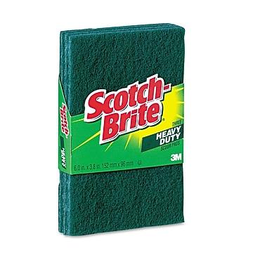 Scotch-Brite® Heavy-Duty Scour Pad, Green, 24/Pack