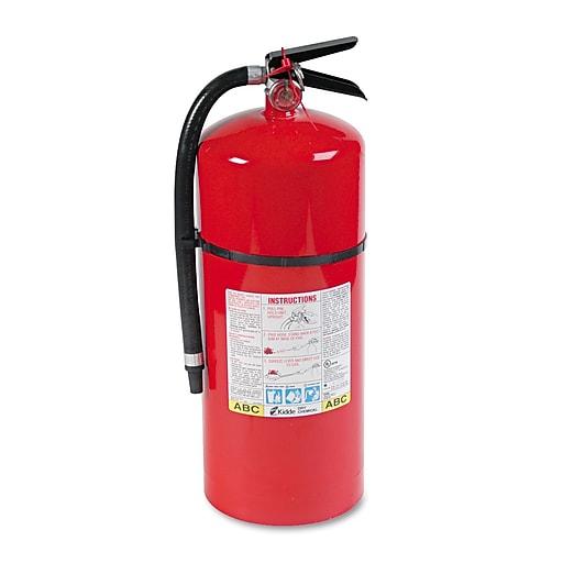 Abc Fire Extinguisher >> Kidde Proline 20 Mp Multi Purpose Fire Extinguisher Abc Type 195 Psi