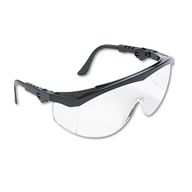 MCR Safety Tomahawk® Wraparound Safety Glasses, Clear Lens