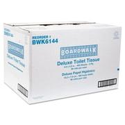 """Boardwalk® Embossed 2Ply 4"""" x 3"""" Toilet Tissue, White, 96/Pack"""