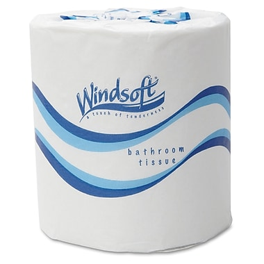 Windsoft® Standard Roll 2 Ply Toilet Tissue, White
