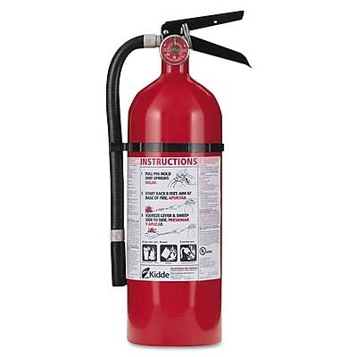 Kidde Pro Series Multi-Purpose Fire Extinguisher, ABC Type, 100 psi