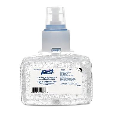 GOJO® PURELL® LTX-7™ Advanced Green Certified Instant Hand Sanitizer Gel, 700 ml, 3/Pack