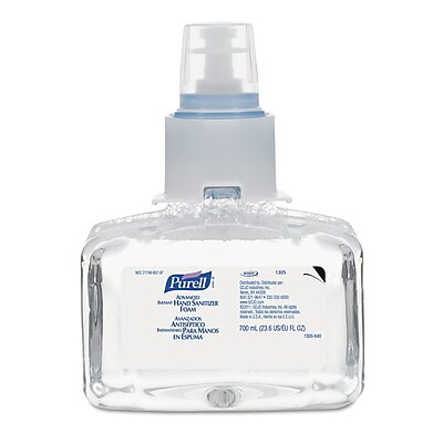 GOJO® PURELL® LTX-7™ Advanced Instant Hand Sanitizer Foam, 700 ml, 3/Pack
