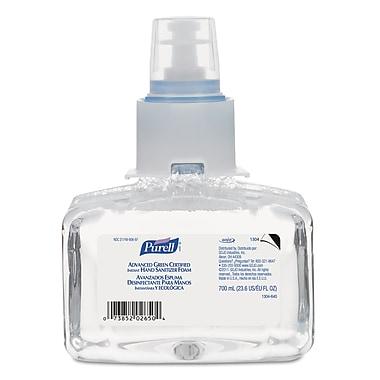GOJO® PURELL® LTX-7™ Advanced Green Certified Instant Hand Sanitizer Foam, 700 ml, 3/Pack