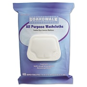 Boardwalk® Premoistened Personal Washcloths, Fresh