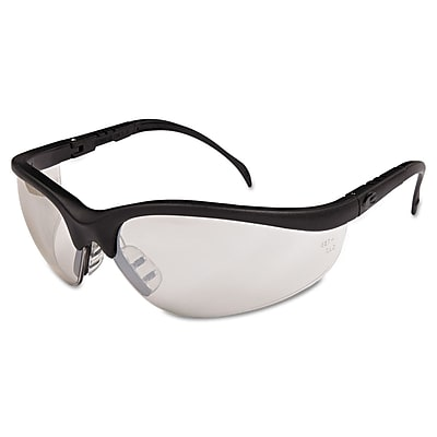 MCR Safety Klondike® Indoor/Outdoor Safety Glasses, Clear Mirror Lens
