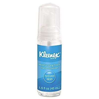 Kimberly-Clark Professional® Kleenex® Moisturizing Foam Hand Sanitizer Gel, 1.5 oz., 24/Pack