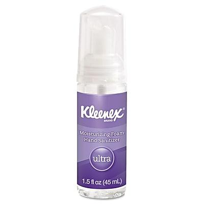 Kimberly-Clark Professional® Kleenex® Ultra Moisturizing Foam Hand Sanitizer Gel, 1.5 oz., 24/Pack