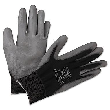 Ansell® HyFlex® Nylon Lining Polyurethane Coated Multi-Purpose Gloves, White, Large