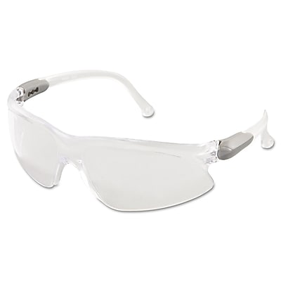 Kimberly-Clark Professional Jackson Safety V20 VISIO Wraparound Safety Glasses, Clear Lens 318487