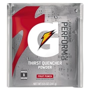 Gatorade® 1 gal Yield Instant Powder Dry Mix Energy Drink, 8.5 oz Pack, Fruit Punch