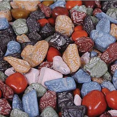 Kimmie Candy brand Regular Mix Chocolate Rocks in a 5 lbs. bag