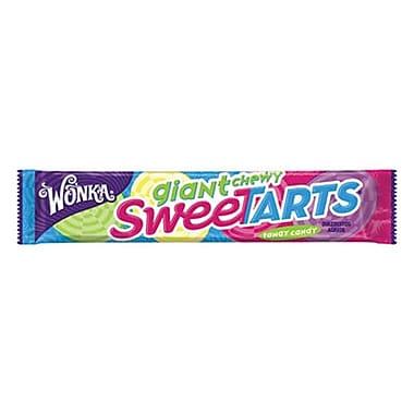 Wonka Giant Chewy SweeTarts 1.5 oz., 36 Pouches/Order