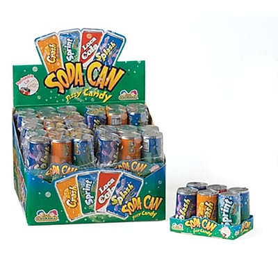 Kidsmania Soda Pop Fizzy Candy; 3 oz., 12 Soda Pops/Order