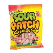 Cadbury Adams Sour Patch Watermelon, 5 oz. Peg Bag, 12 Packs/Order