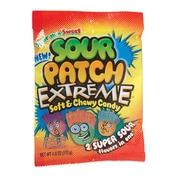 Sour Patch Extreme; 4 oz. Peg Bag, 12 Packs/Order