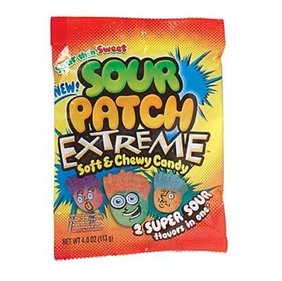Sour Patch Extreme; 4 oz. Peg Bag, 12 Packs/Order