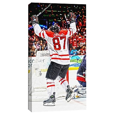 Sidney Crosby Canvas, Team Canada Golden Goal