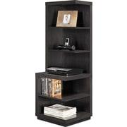 "Altra Furniture Wildwood 1317096 56.5"" Engineered Wood Audio Rack, Rustic Gray"