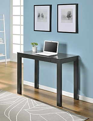 Altra Furniture Parsons Desk with Drawer, Espresso Finish