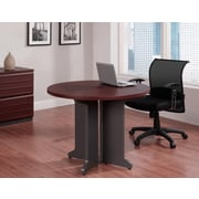 Altra Pursuit Round Table Bundle, Cherry/Gray