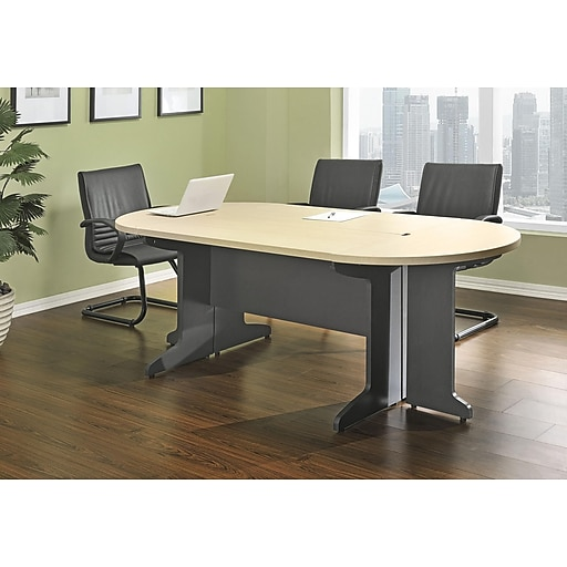 Altra Tural Oval Conference Table Brown Staples - Oval conference room table