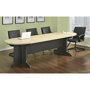 Altra Tural 105'' Oval Conference Table, Brown (9350196)
