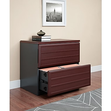 Altra Pursuit 2 Drawer Lateral File, Cherry,Letter/Legal, 29.4''W (9522196)