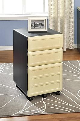Altra Pursuit 3 Drawer Mobile/Pedestal File, Gray,Letter/Legal, 15.37''W (9523096)