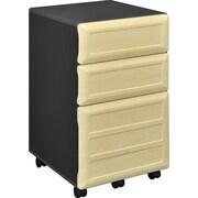Altra Furniture Benjamin 3-Drawer Mobile Pedestal File
